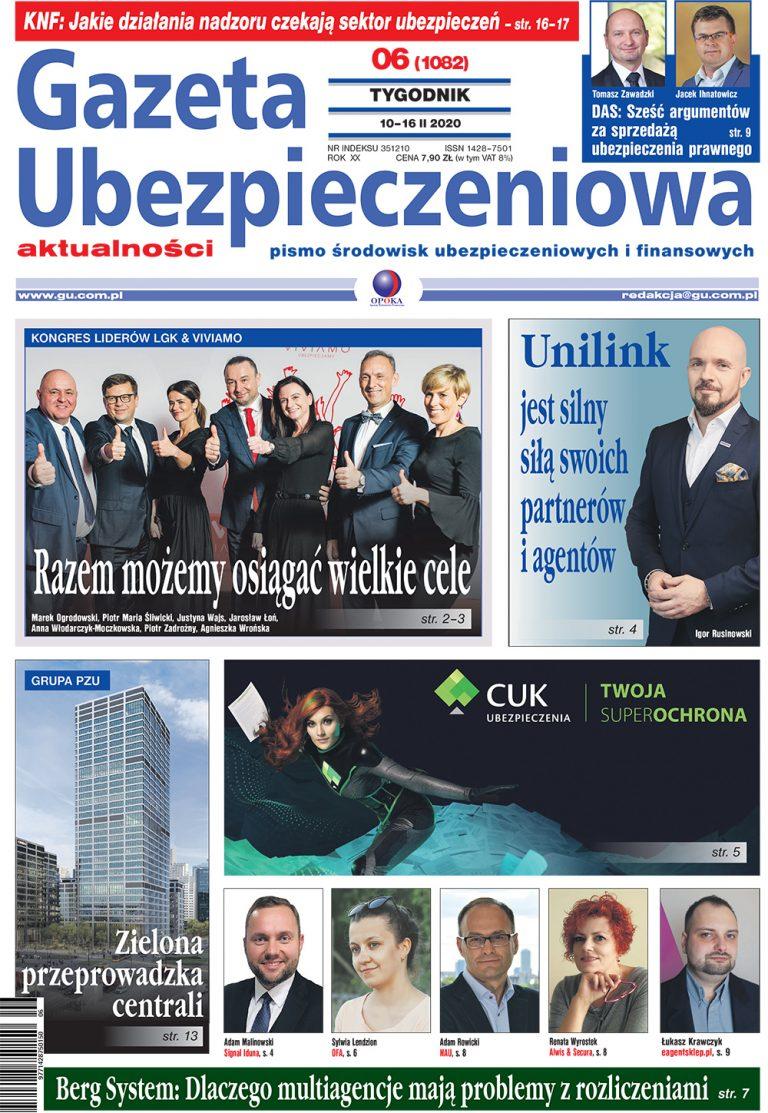 Gazeta Ubezpieczeniowa nr 6/2020