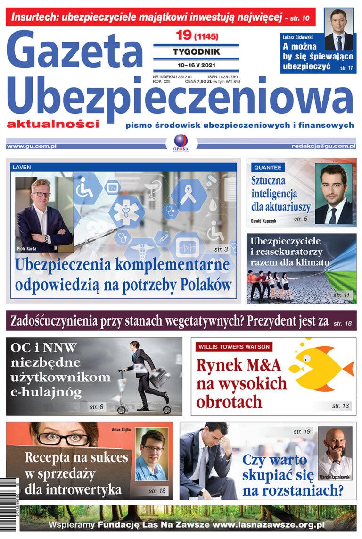 Gazeta Ubezpieczeniowa nr 19/2021