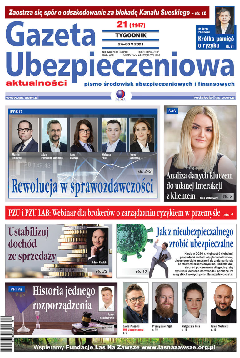 Gazeta Ubezpieczeniowa nr 21/2021