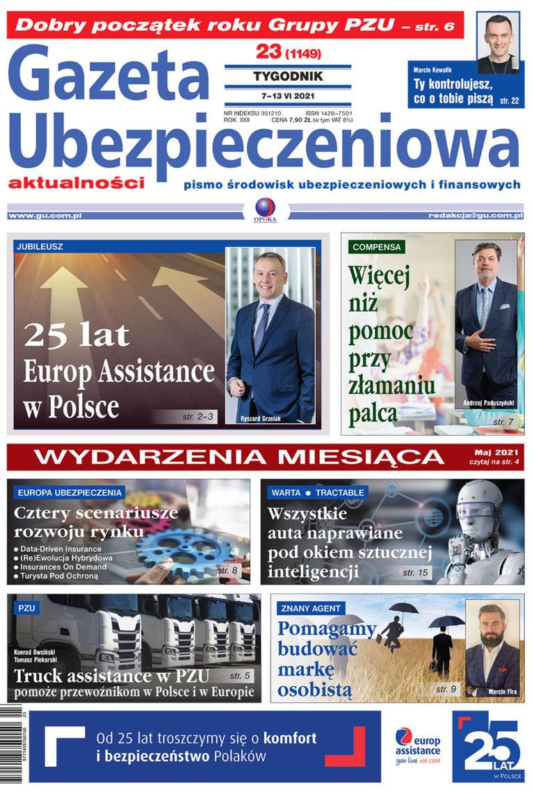 Gazeta Ubezpieczeniowa nr 23/2021