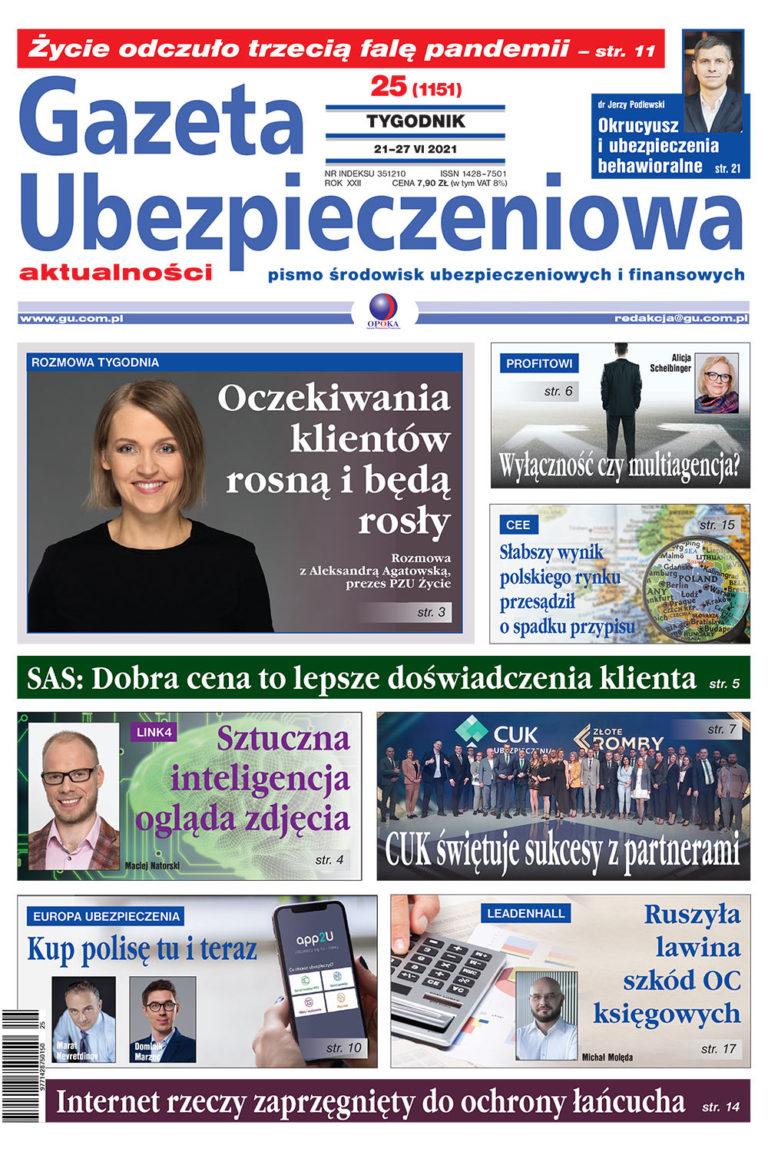 Gazeta Ubezpieczeniowa nr 25/2021