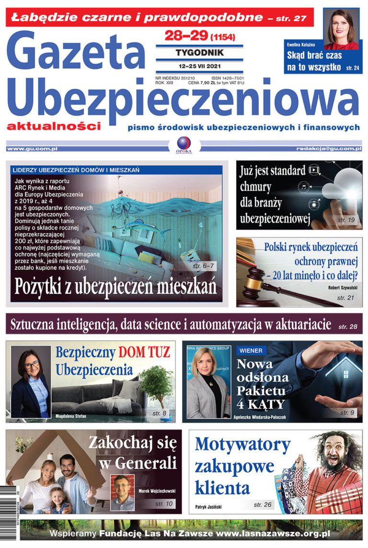 Gazeta Ubezpieczeniowa nr 28-29/2021