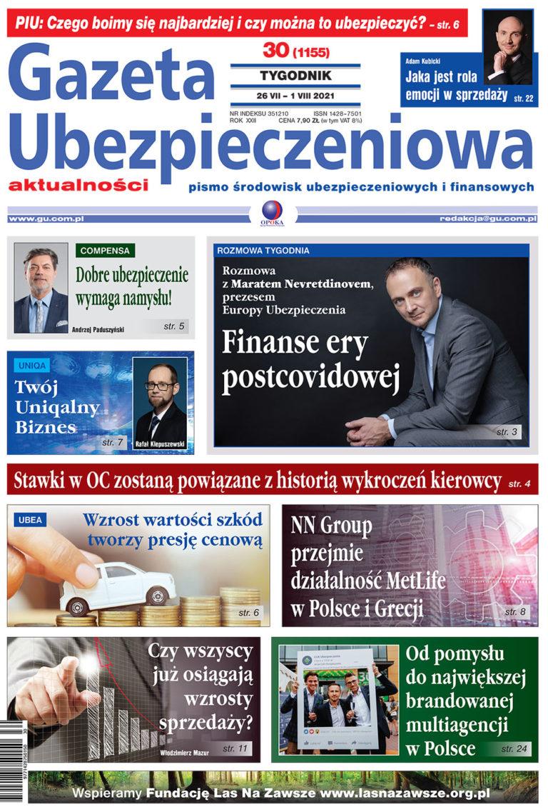 Gazeta Ubezpieczeniowa nr 30/2021